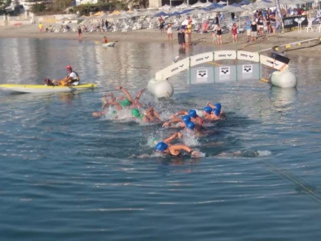 Κυριάρχησε ο Ολυμπιακός στο πανελλήνιο πρωτάθλημα ανοιχτής θάλασσας στο Άστρος