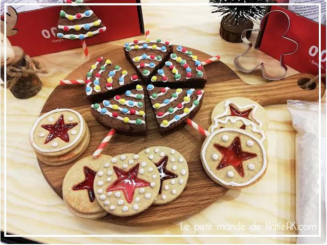 gâteau de Noël de la Box pâtissière Ookies