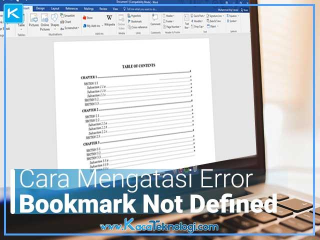Bagaimana cara mengatasi error! bookmark not defined di Micorosft Word dan cara memperbaiki daftar isi yang berantakan serta error. Kemudian bagaimana cara mengedit daftar isi yang sudah jadi.
