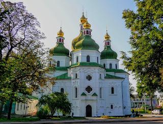 Ніжин. Чернігівська обл. Свято-Миколаївський кафедральний собор