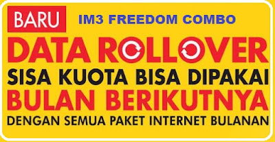 Indosat Im3 Freedom Data Rollover 2017