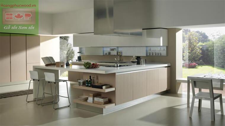 Thiết kế phòng bếp mẫu chữ U