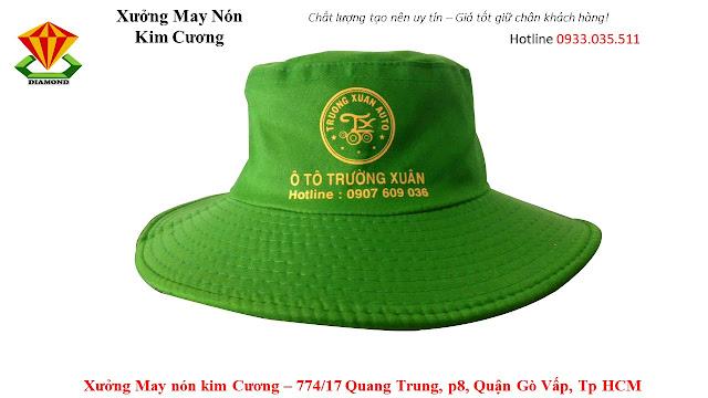 May nón tai bèo số lượng lớn ở An Giang