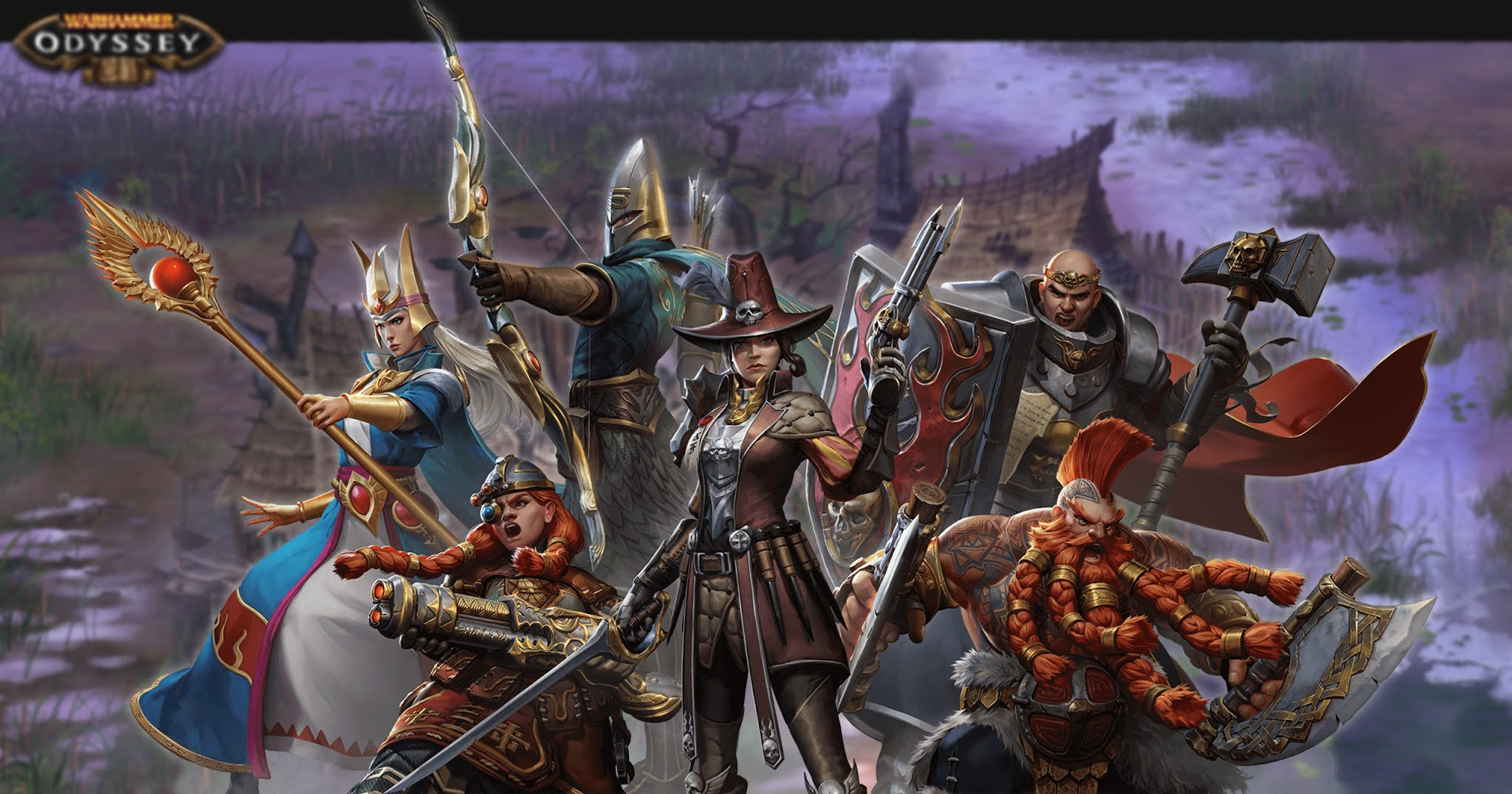 Warhammer: Odyssey. Which class should you choose?