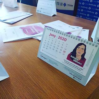 calendario #congresnomdedona women science portrait