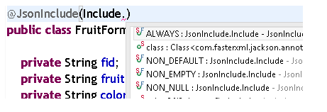 How to remove null values from JSON Response in REST