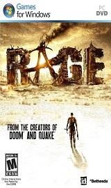 rage pc cover art - RAGE PC [RIP]