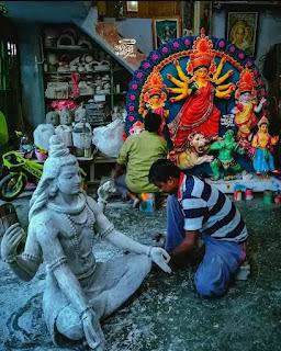 Durga Puja Photo, Images 2021 - Durga Puja Pandal Photo Gallery Kolkata