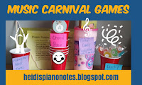 Music Carnival Games Music Theory Piano Teaching Group Plans