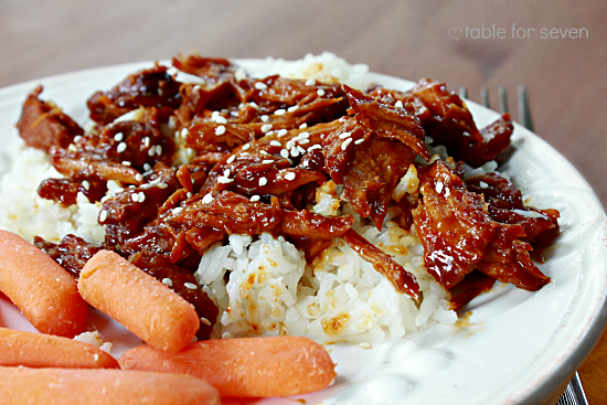 Crock Pot Asian Pork