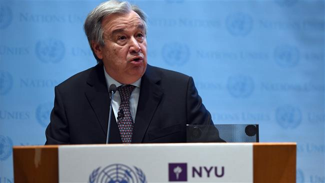 UN Secretary-General Antonio Guterres urges US not to slash United Nations funding