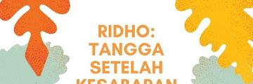 Ridho: Tangga setelah Kesabaran