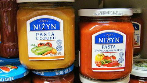 Pasty i dania z warzyw, Niżyn