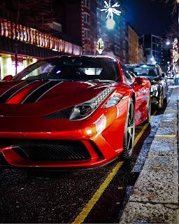Red Car Mobile HD Wallpaper