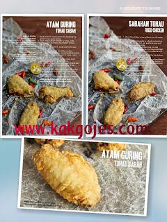 resepi ayam goreng tuhau sabah,tuhau,apa itu tuhau,nama saintifik tuhau, serunding tuhau,makanan disabah