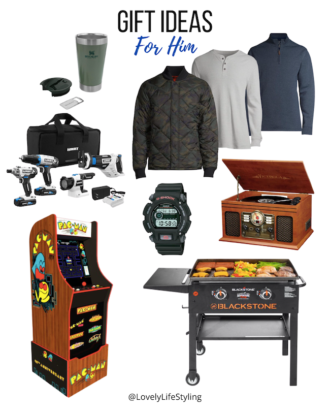 Walmart gift guide for him
