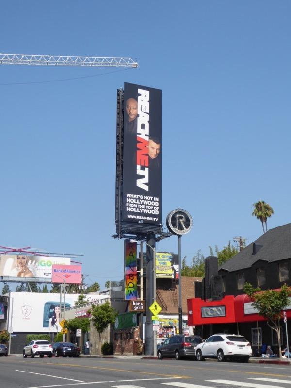 ReachMe TV billboard