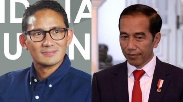 Godaan Jokowi dan BG Ke Sandiaga Dinilai Cuma Trik Memecah Popularitas Anies Baswedan