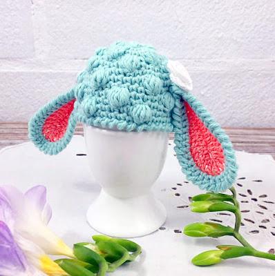 crochet lamb Easter Egg Cozy