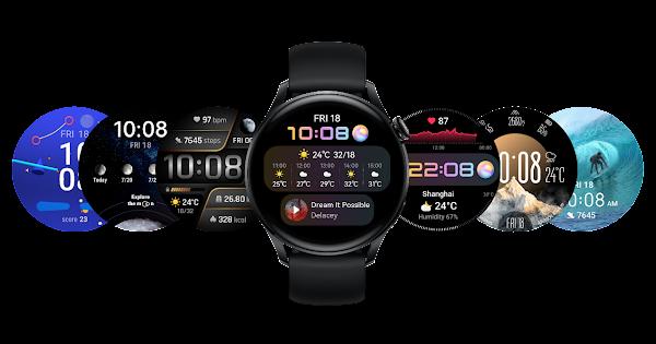 Huawei Watch 3 Series: um mostrador para cada estilo