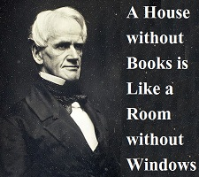 A House without Books is Like a Room without Windows