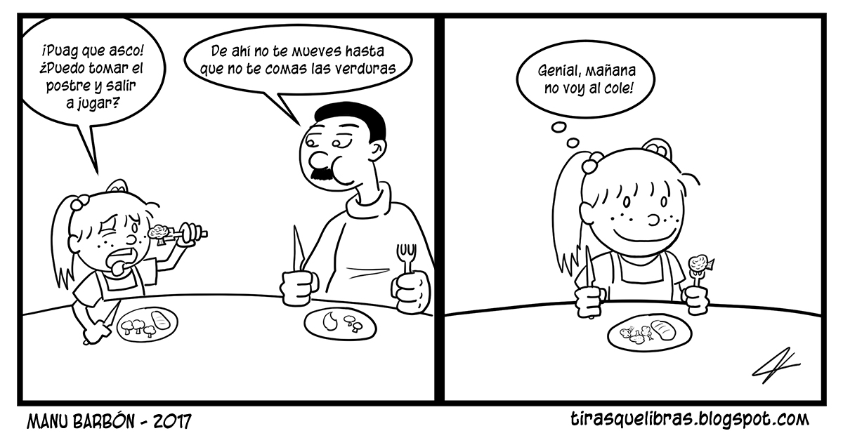 webcomic, jen no quiere comer