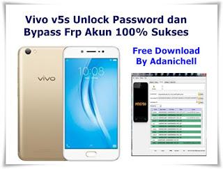 Vivo v5s Unlock Password dan Bypass Frp Akun