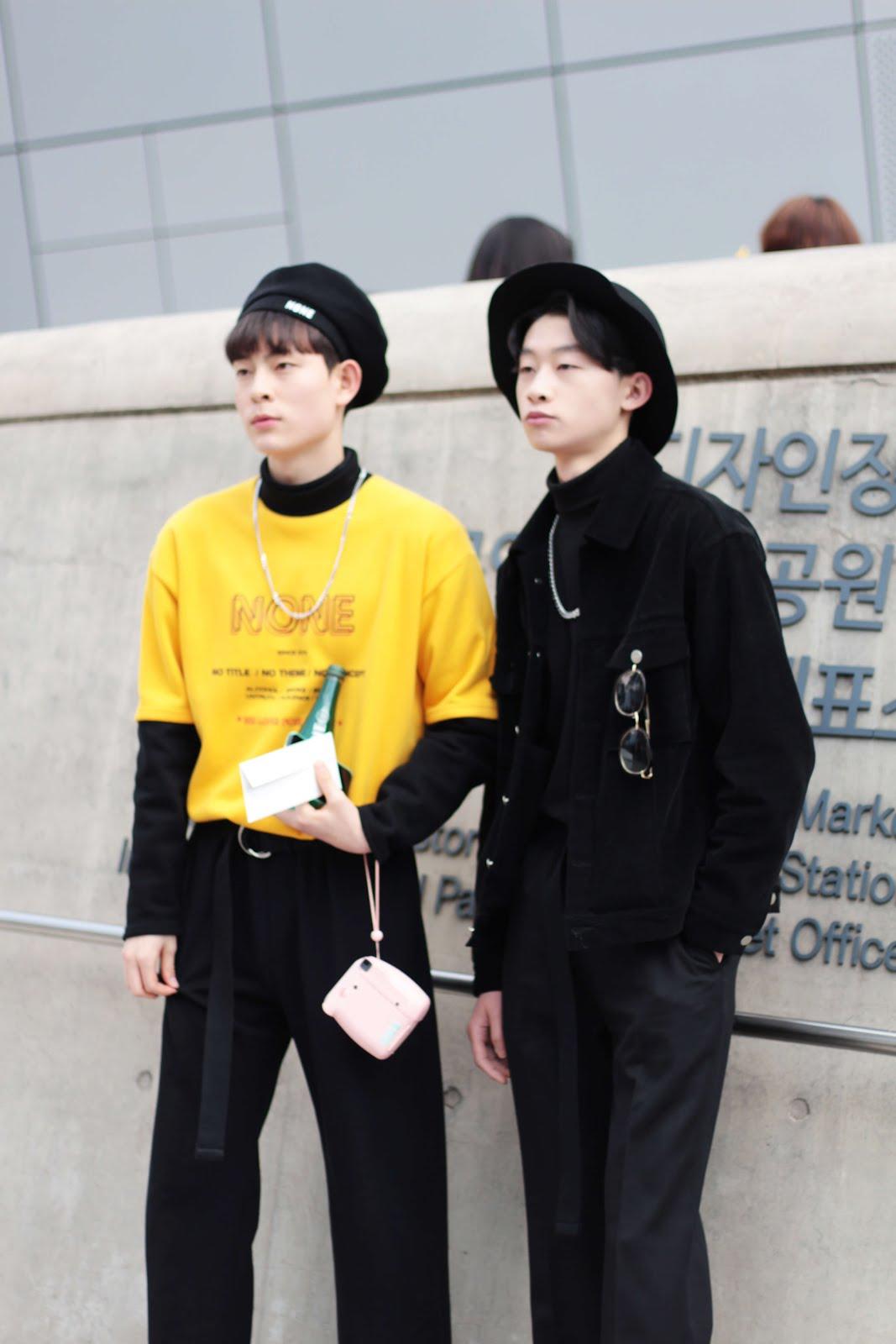 headwear at seoul fashion week