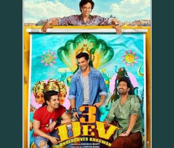 See:Poster of upcoming movie 3 Dev has been released, staring Karan Singh Ravi Dubey and Kunaal