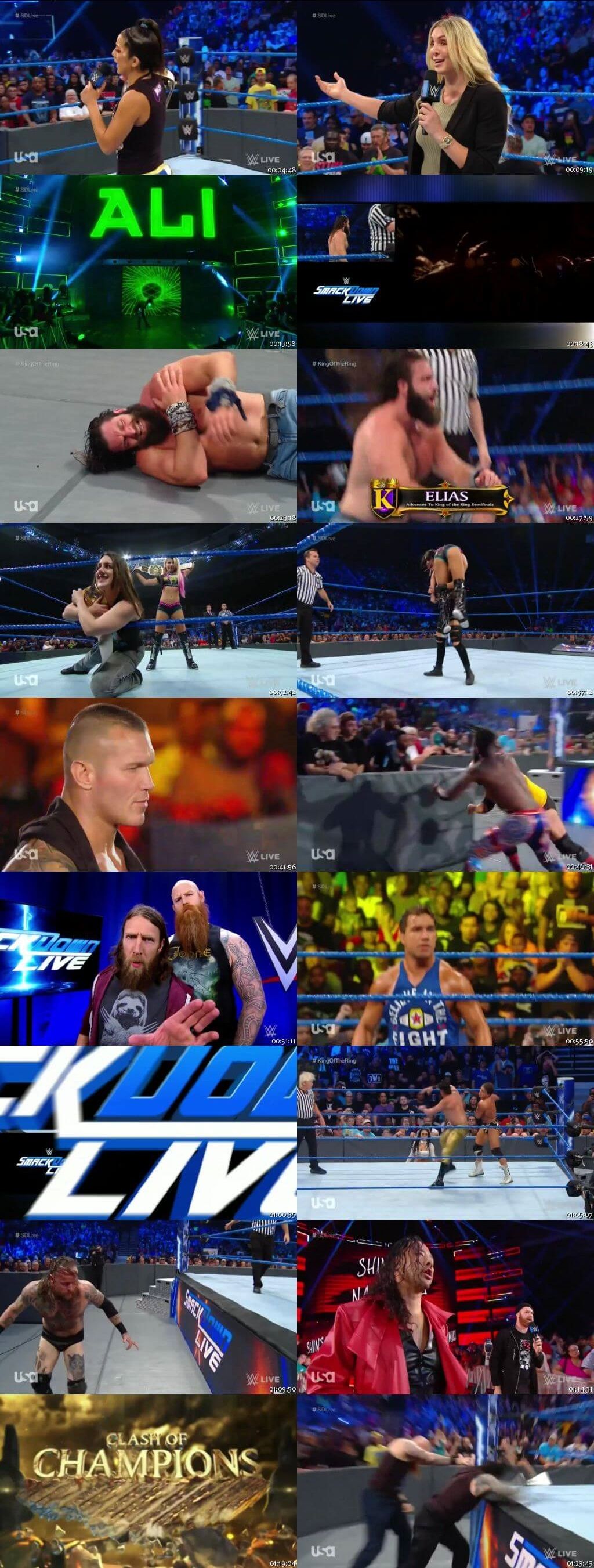 Screen Shot Of WWE SmackDown Live 3rd September 2019 HDTV 480P 300MB