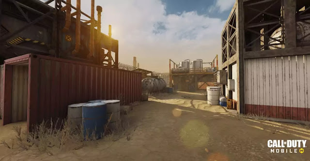 call of duty mobile ios release date Rust Map