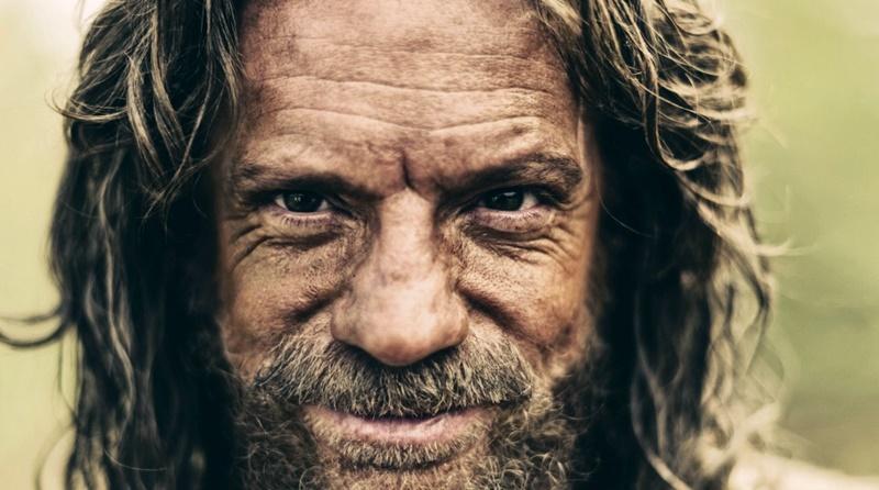 imagem de Moisés personagem na série The Bible