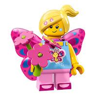 Dziewczyna motyl