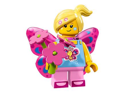 LEGO 71018-7 - Dziewczyna motyl