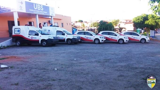 SÃO JOSÉ DOS RAMOS: Prefeitura entrega novos veículos e reforça a frota da Secretaria Municipal de Saúde.