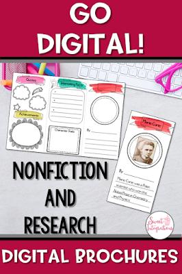 Pinterest image for digital brochures