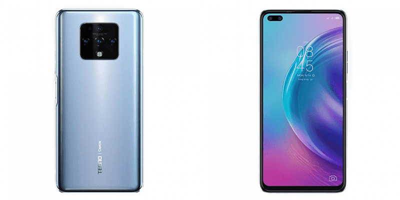 Back and front design of the phone