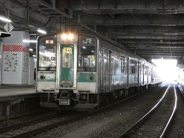 【ダイヤ改正で稀に運行】常磐線 新地行き2 701系