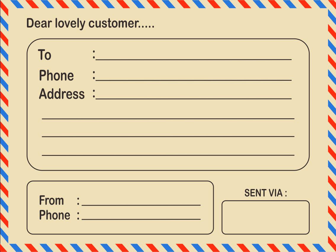 Download Desain Label Pengiriman Paket Online Shop Format ...