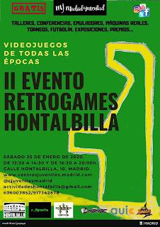 II Evento Retrogames del Centro Juvenil Hontalbilla