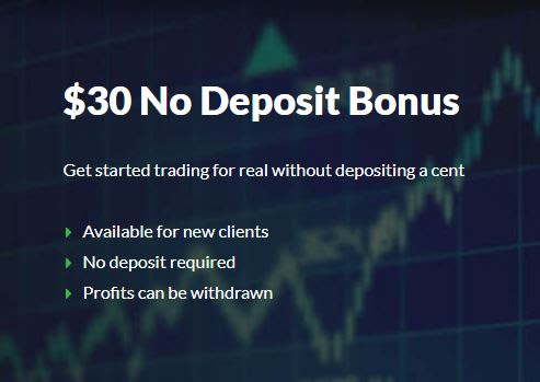 XGlobalFX $30 Forex No Deposit Bonus
