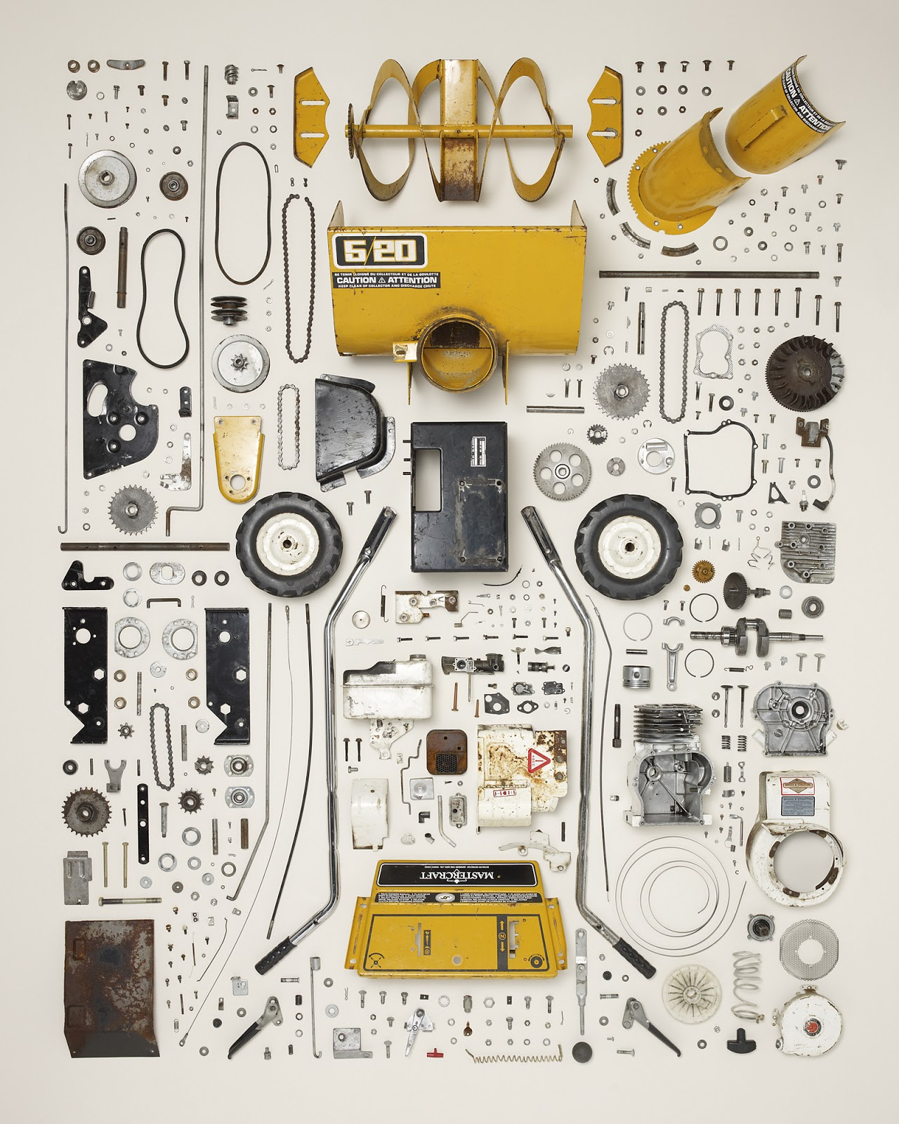 "FAIZ RAHMAN :): Seni ""Things Come Apart"" Oleh Todd McLellan"