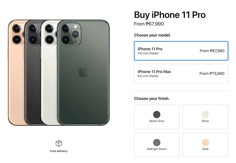Apple iPhone 11, 11 Pro, 11 Pro Max priced in the Philippines!