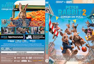 CARATULAPETER RABBIT 2 - CONEJO EN FUGA - PETER RABBIT 2 THE RUNAWAY - 2020