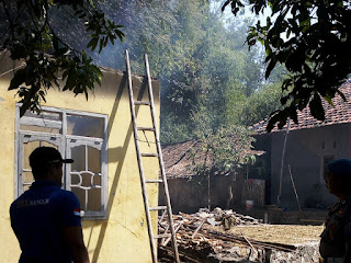 Tiga Rumah Terbakar Semalam Di Kab Cirebon