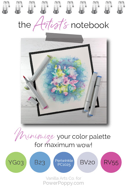 Want to improve your Copic Marker or colored pencil coloring? Power Poppy's guest author Amy Shulke from VanillaArts.com offers artistic coloring tips for Copic Markers or colored pencil. | VanillaArts.com | #realistic #howtocolor #copic