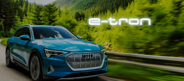 Audi plane to launch her first e-tron eletric car in india.