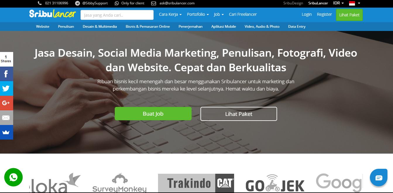 situs freelancer terbaik indonesia