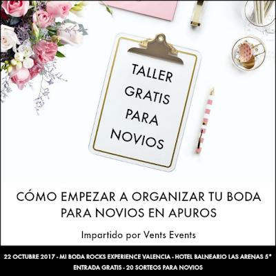 taller vents events mi boda rocks experience valencia