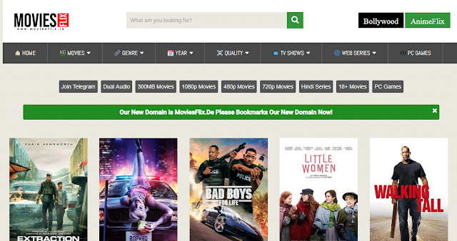 MoviesFlix 2020: Free Download 300MB Hindi Dubbed Movies